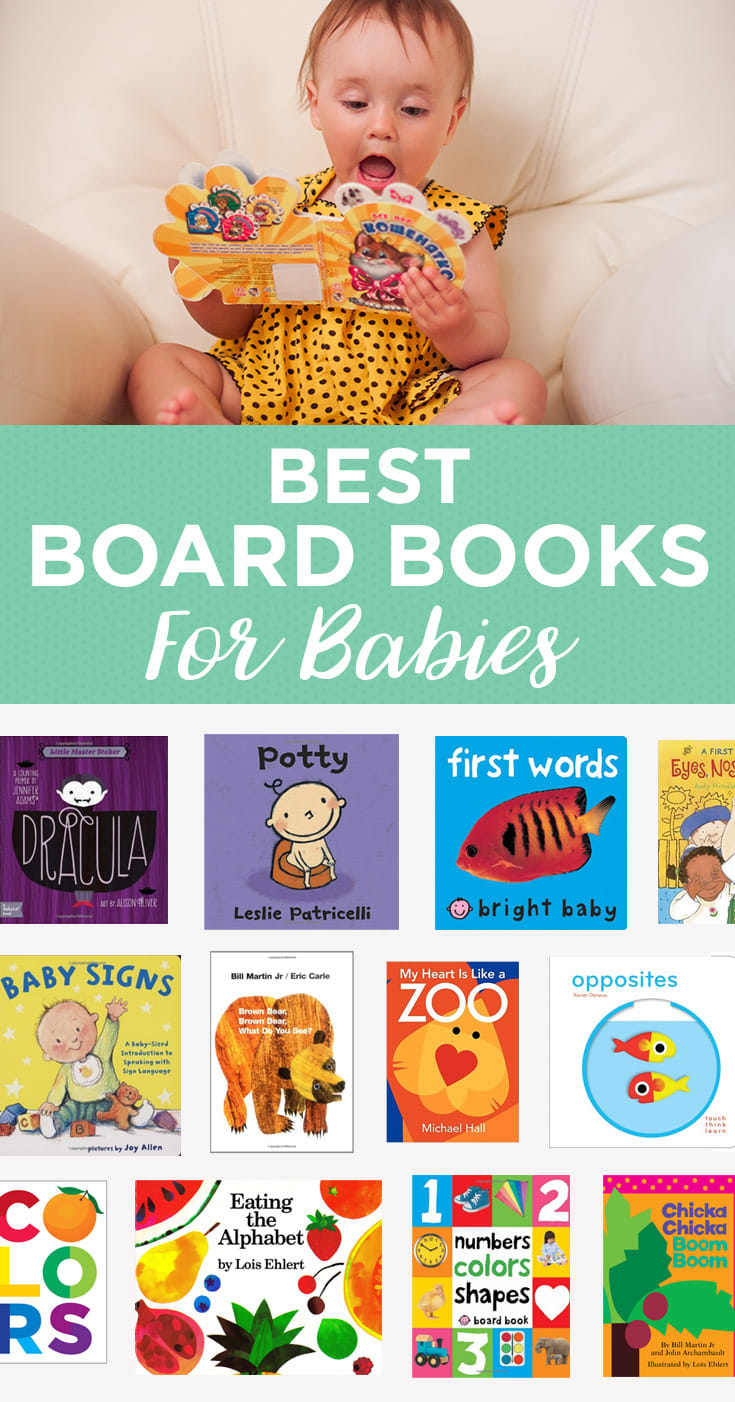 Get your baby off to a smart start with these educational (and chewable) board books.