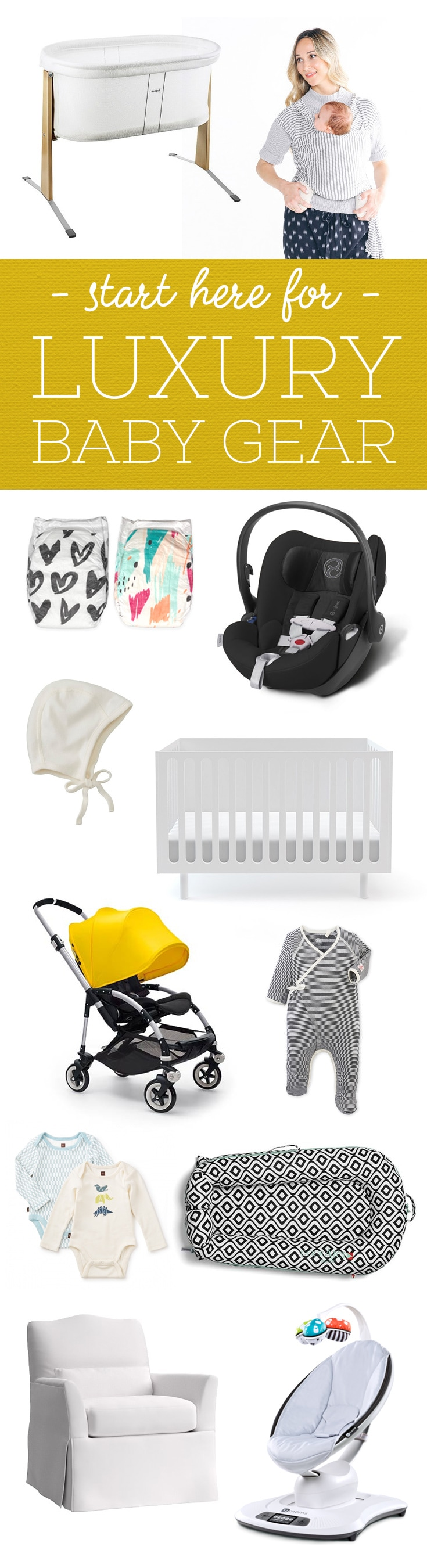 If we hit the Lotto jackpot tomorrow, all this gear is going on our baby registries, stat.