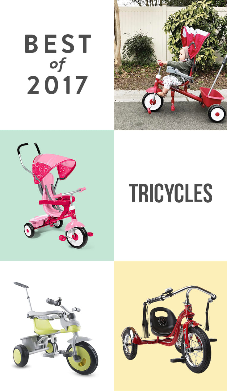 From the retro Schwinn Roadster to the Radio Flyer 4-in-1, these trikes will keep your little one pedaling all summer long.