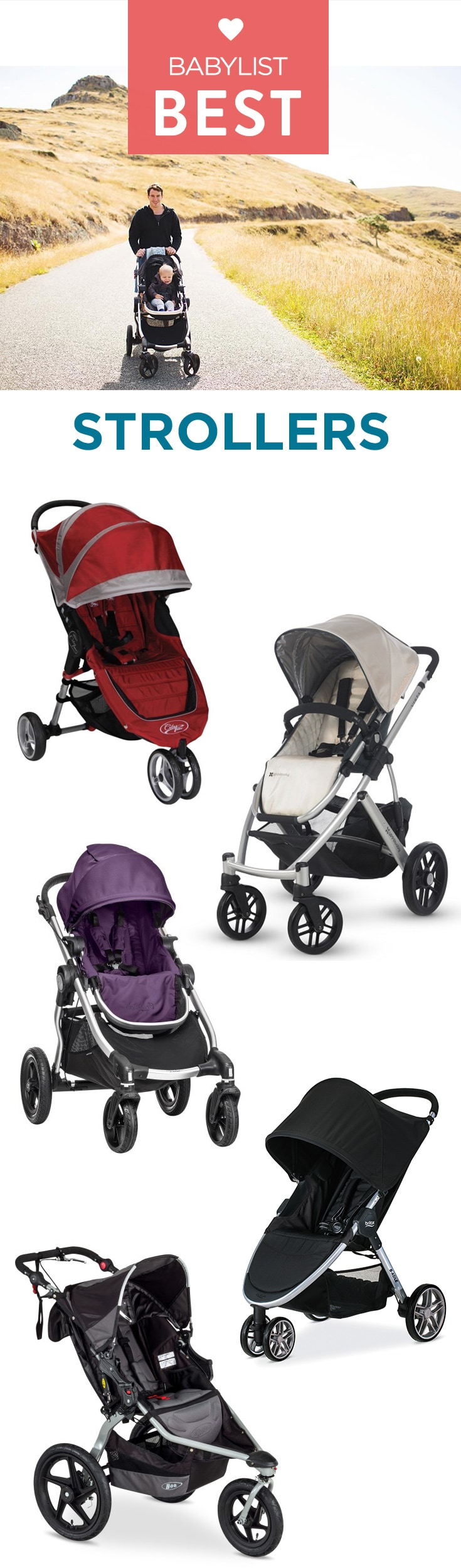 Find out which travel system, lightweight, jogging, budget luxury and all terrain models topped our list. Add all your newborn must haves including strollers to your Babylist baby registry.  Babylist lets you add any item from any store to one registry.