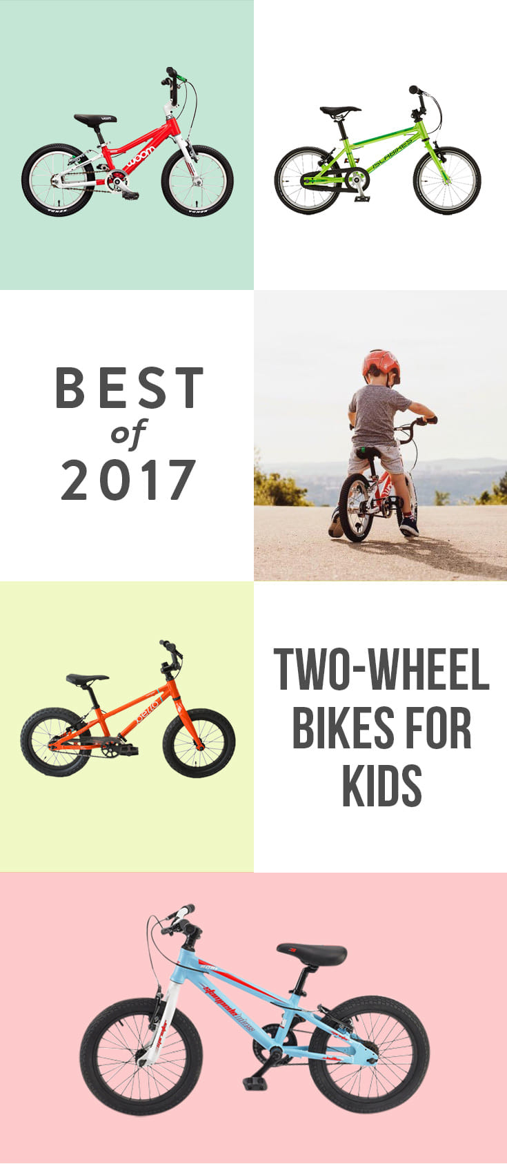 Start here to get the best first pedal bike for your kid.