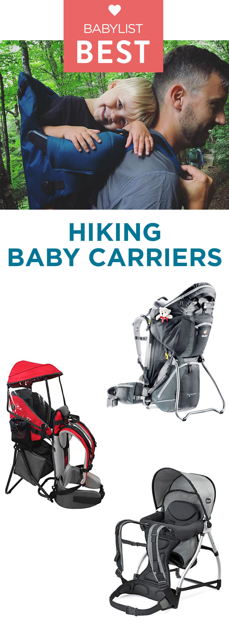A hiking backpack makes tackling the great outdoors with your little one in tow a whole lot easier.