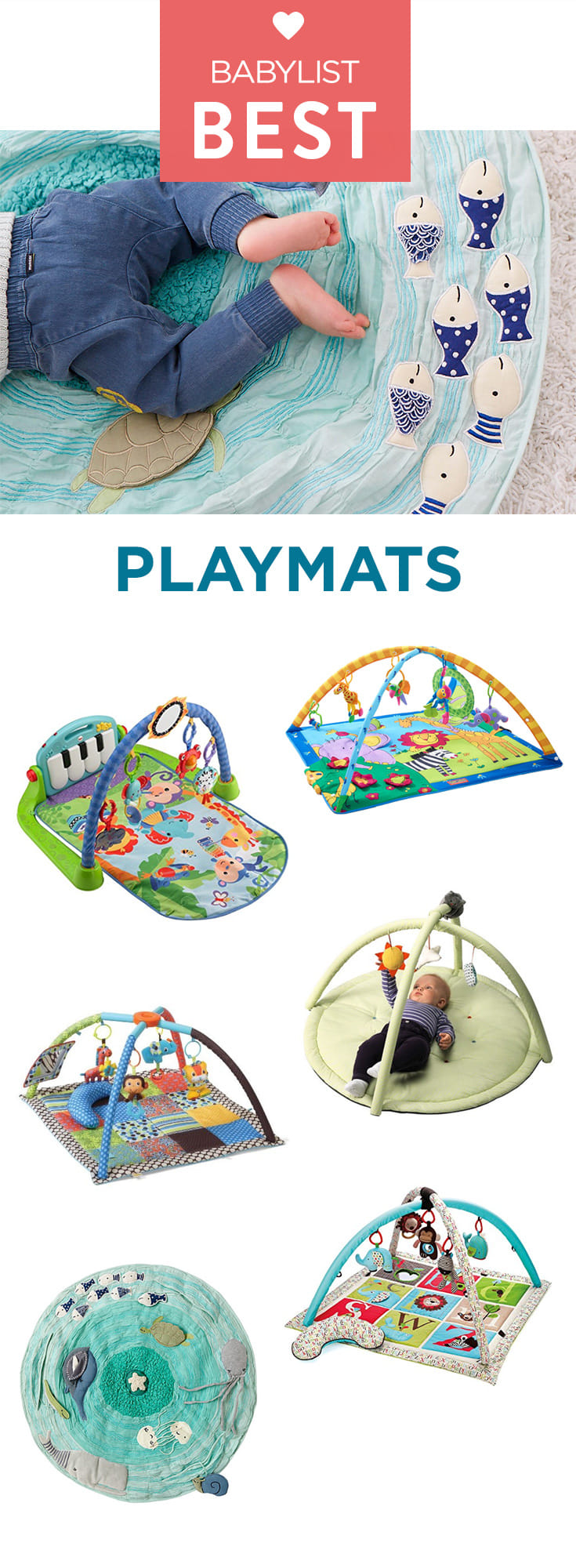 Stimulating and safe, these activity gyms will keep your baby occupied while keeping you at ease.