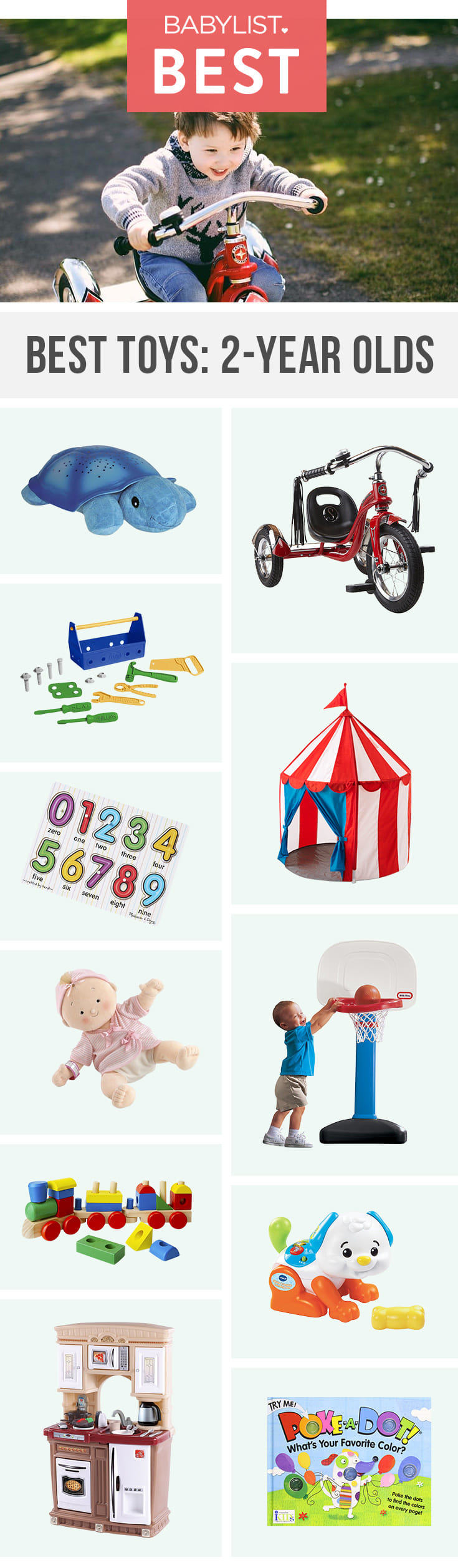 Your toddler is on a mission to have fun. Encourage them with these fun toys.