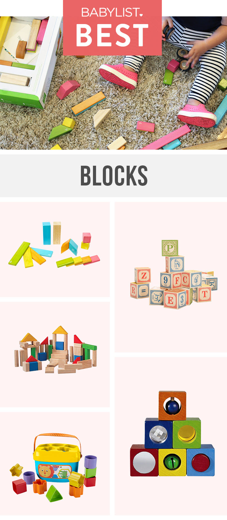 Inspire your child's inner architect with these simple but fun blocks.