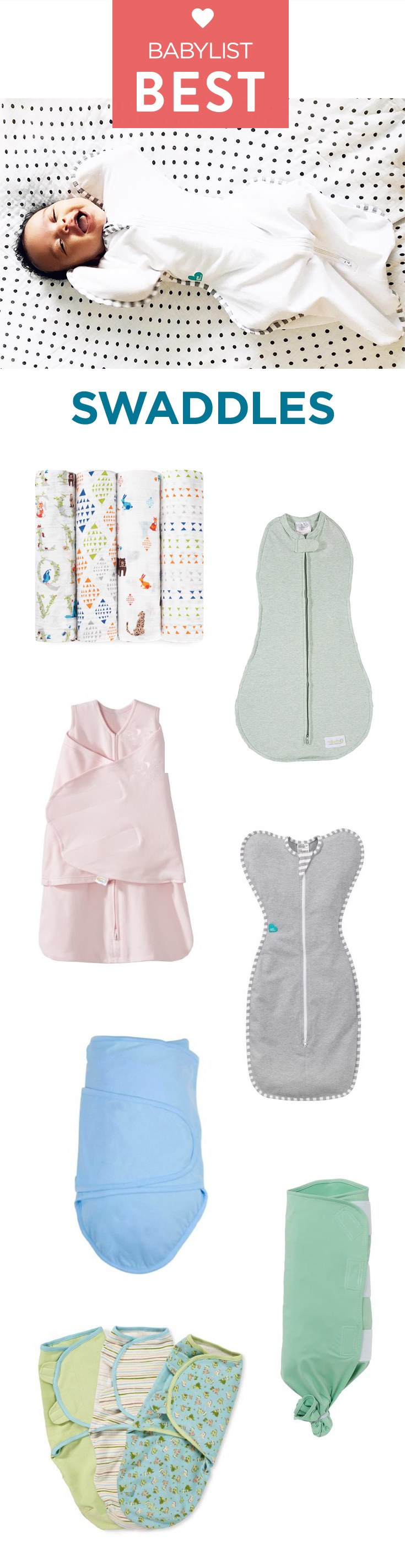 A good swaddle helps soothe your baby (and give you some soothing peace and quiet).