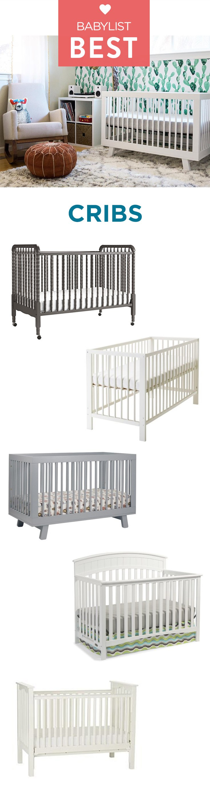 The crib that helps your child sleep peacefully is the crib that helps you sleep peacefully.