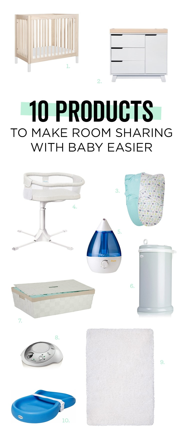 Whether you're sharing for a few months or the long haul, these will make life with your new roomie easier.