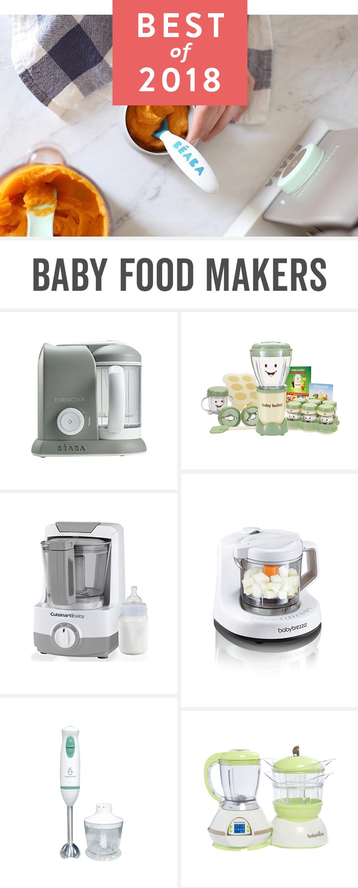 Making healthy, homemade baby food is a lot easier than it sounds, especially with one of these.
