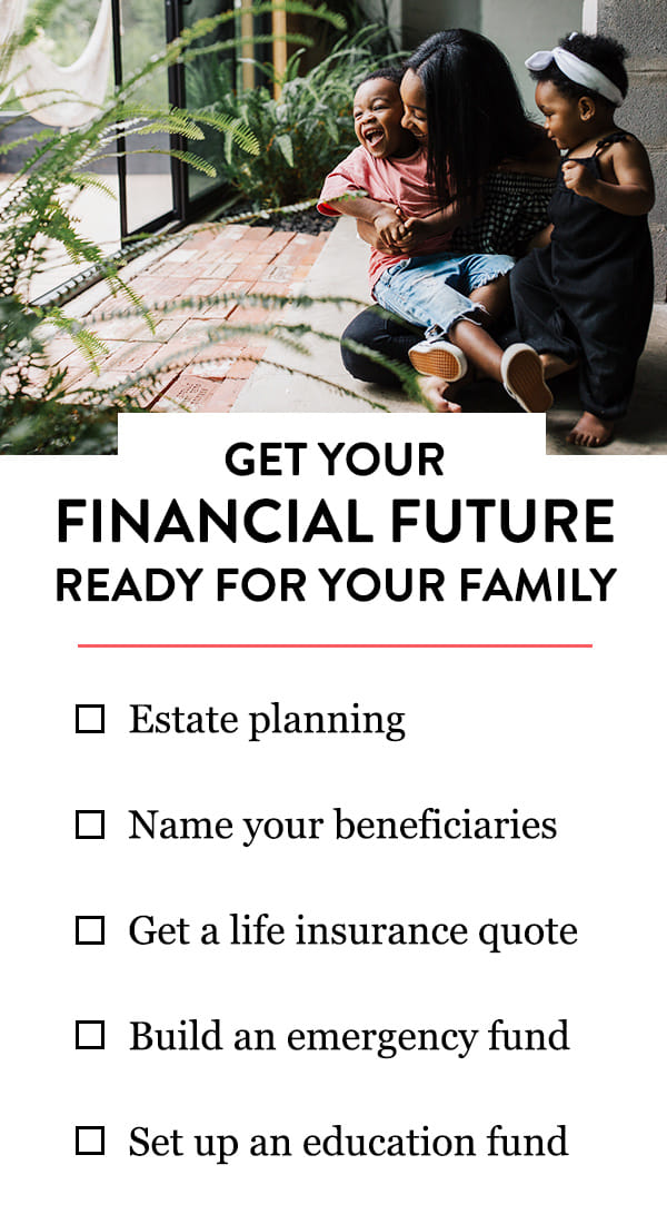 This simple checklist will help you get your financial future in shape for your growing family.