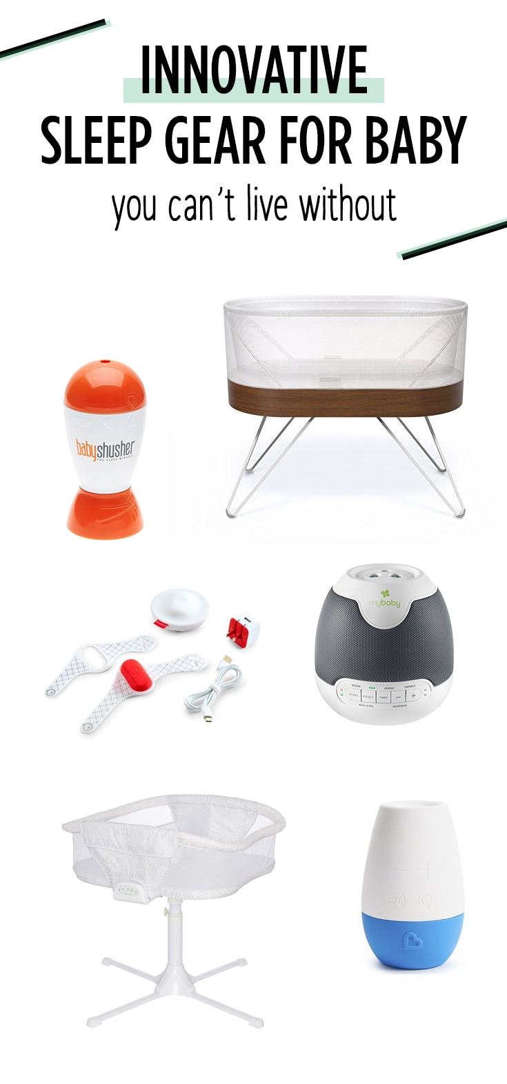 These products aim to get baby safely to sleep faster, and allow them to sleep longer.