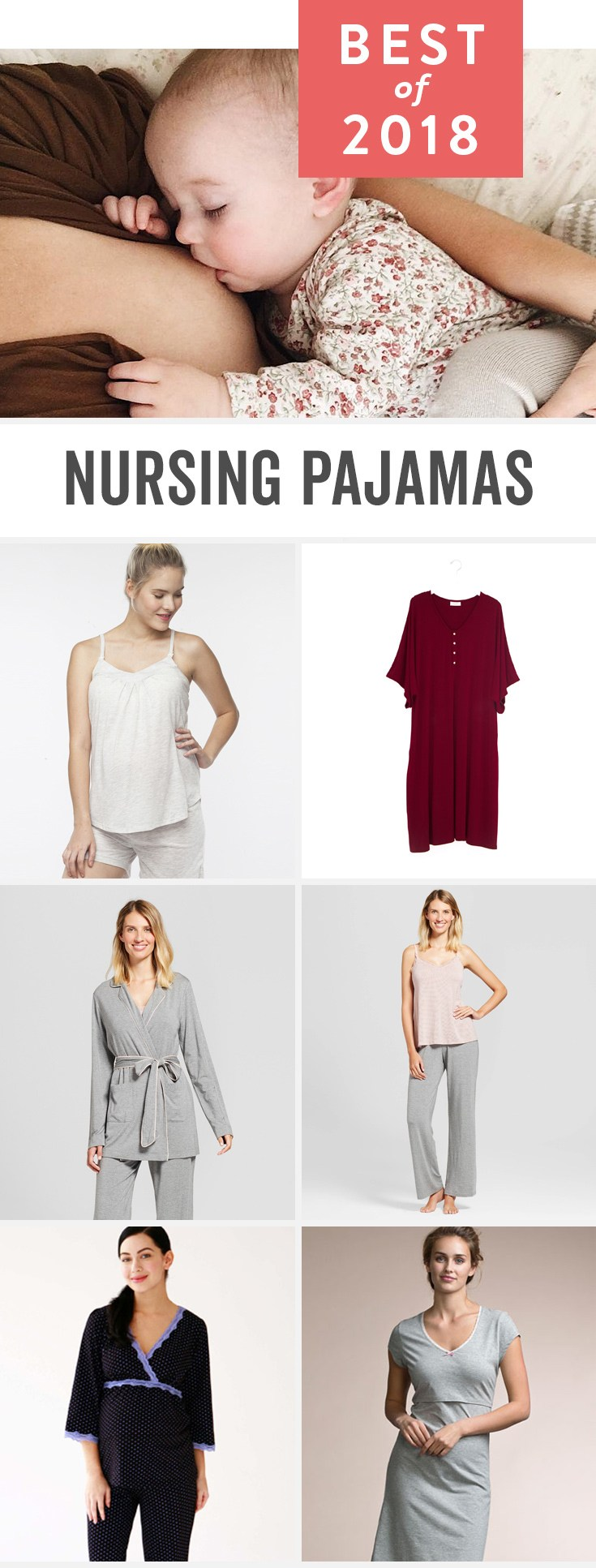 e5a6472c3 Best Nursing Pajamas of 2019
