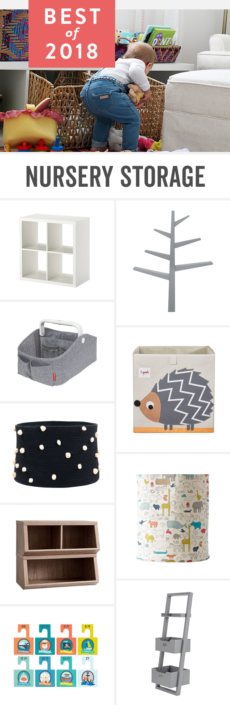 Babylist is the baby registry that lets you add any item from any store including stylish nursery storage and organization for baby boys and baby girls.
