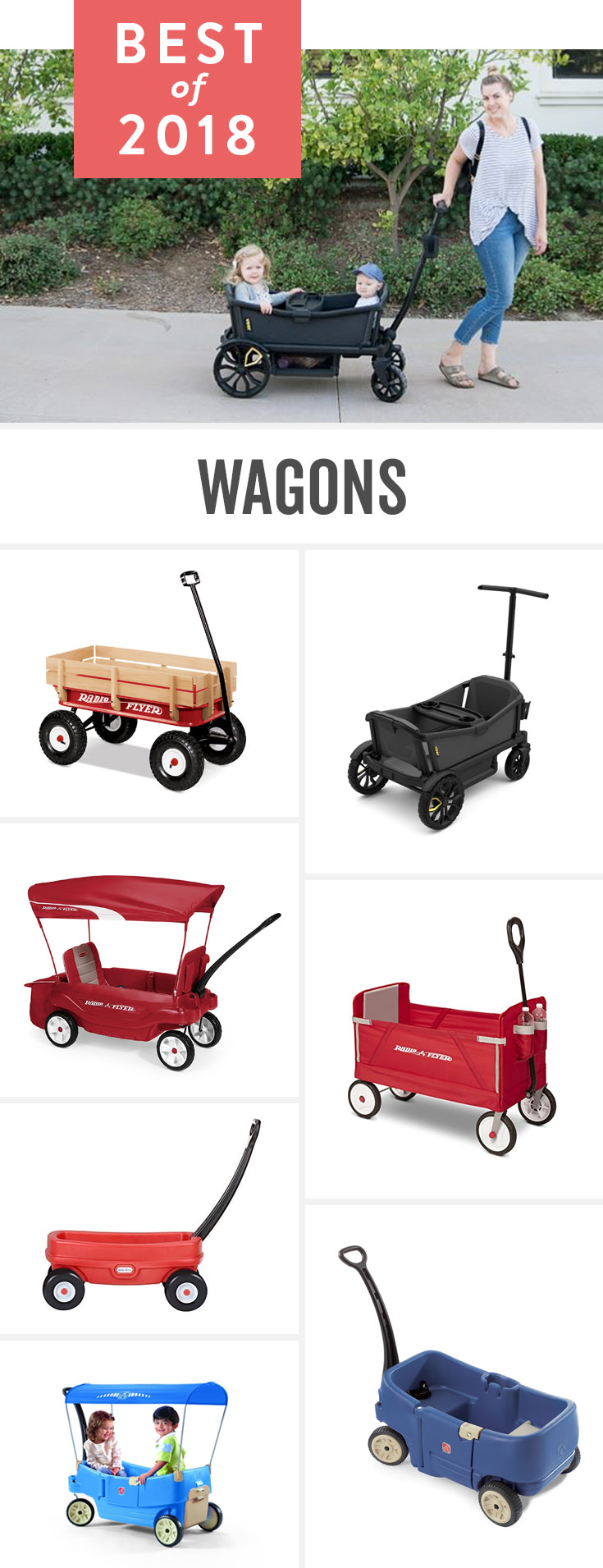 No matter how great your stroller is or how much it can hold, sometimes you just need a wagon.