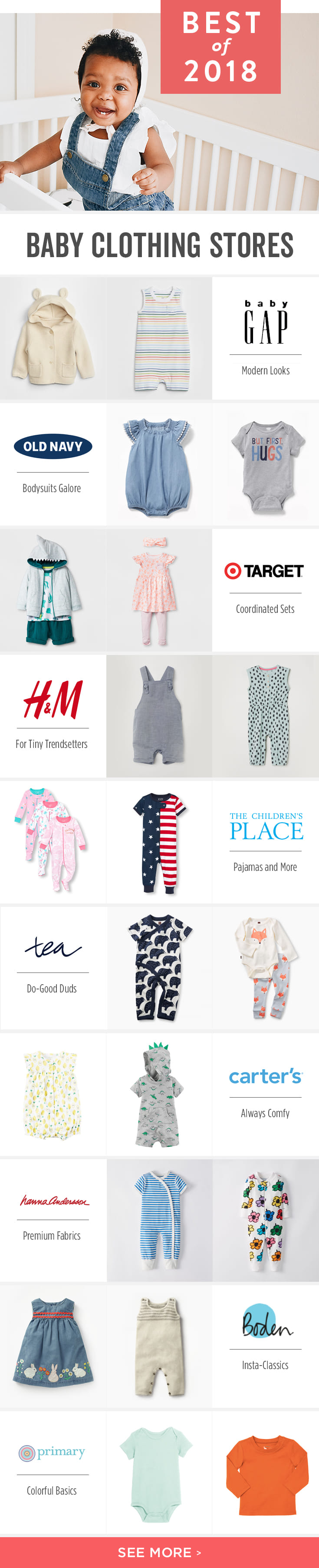 9219c7d52f46 Babylist is the baby registry that lets you add any item from any store  including the Best Baby Clothing ...