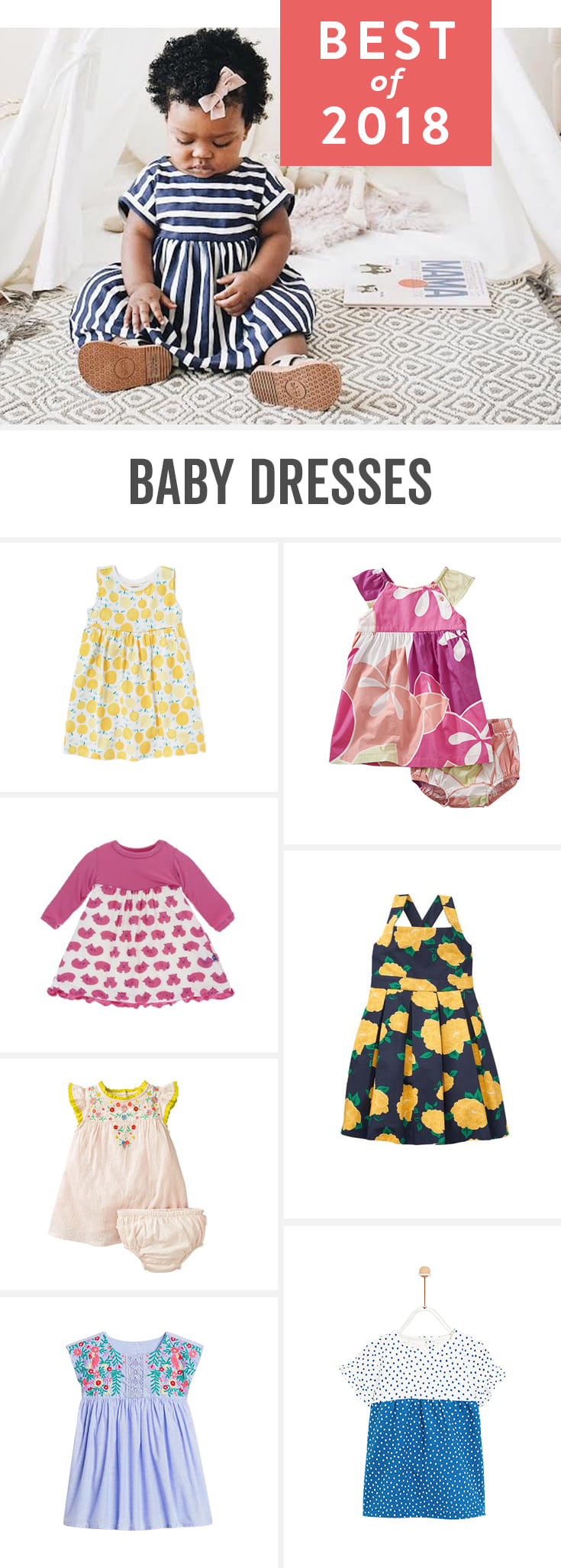 Babylist is the baby registry that lets you add any item from any store including the best baby dresses of this year. Whether you're looking for fancy/formal dresses, or cute dresses for your newborn, these are the perfect classic picks for your registry.