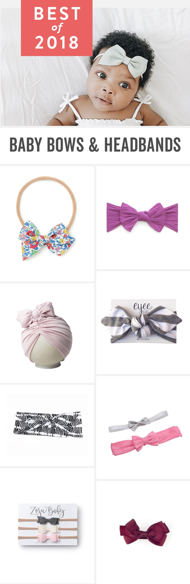 Babylist is the baby registry that lets you add any item from any store to one beautiful registry including the best baby bows and headbands for girls. Best bows for newborns and toddlers. Cute and small/little styles or giant unique bows too.