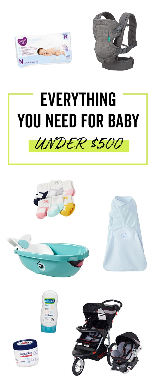 You can get everything you need for baby on a $500 budget. Add all these top-rated budget friendly gifts to your Babylist registry. Babylist lets you add any item from any store to one list. It's easy, beautiful and free and works just like Pinterest!