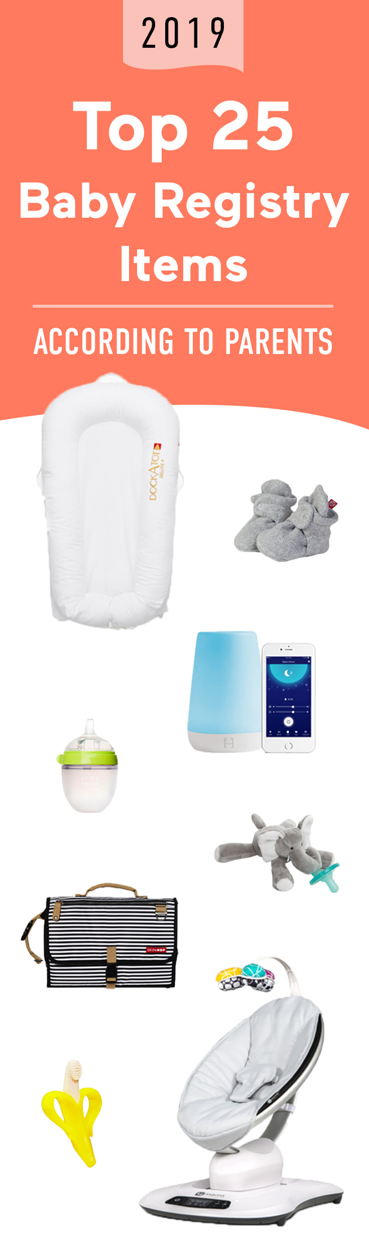 Cut through the noise: These are thousands of parents' must-haves, all in one handy list.