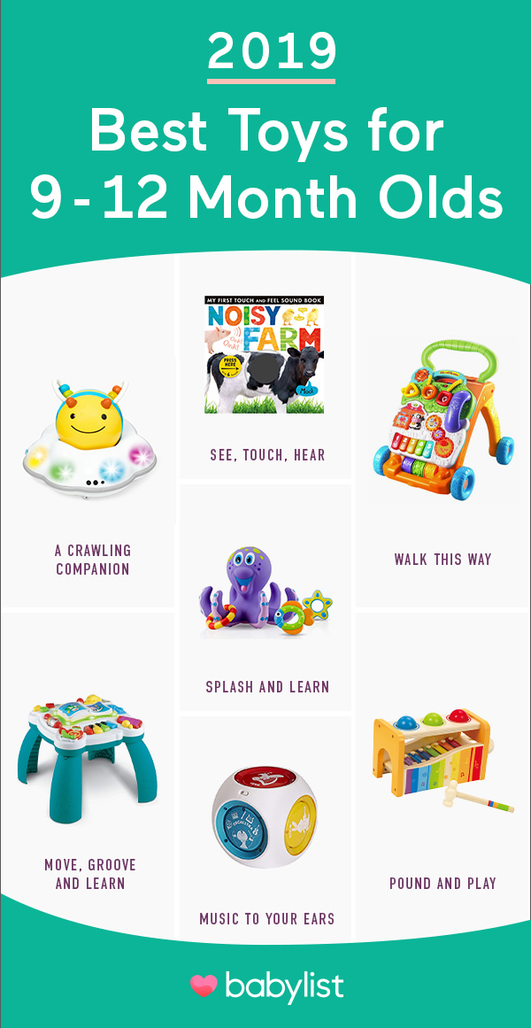 Play time is the best time! These fun toys help babies learn and develop, while having fun.