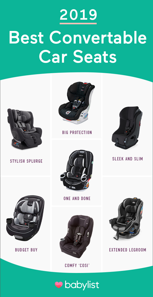 8 Best Convertible Car Seats of 2019