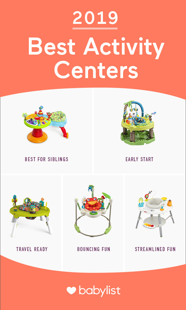 Keep older babies and toddlers entertained with these all-in-one fun zones.