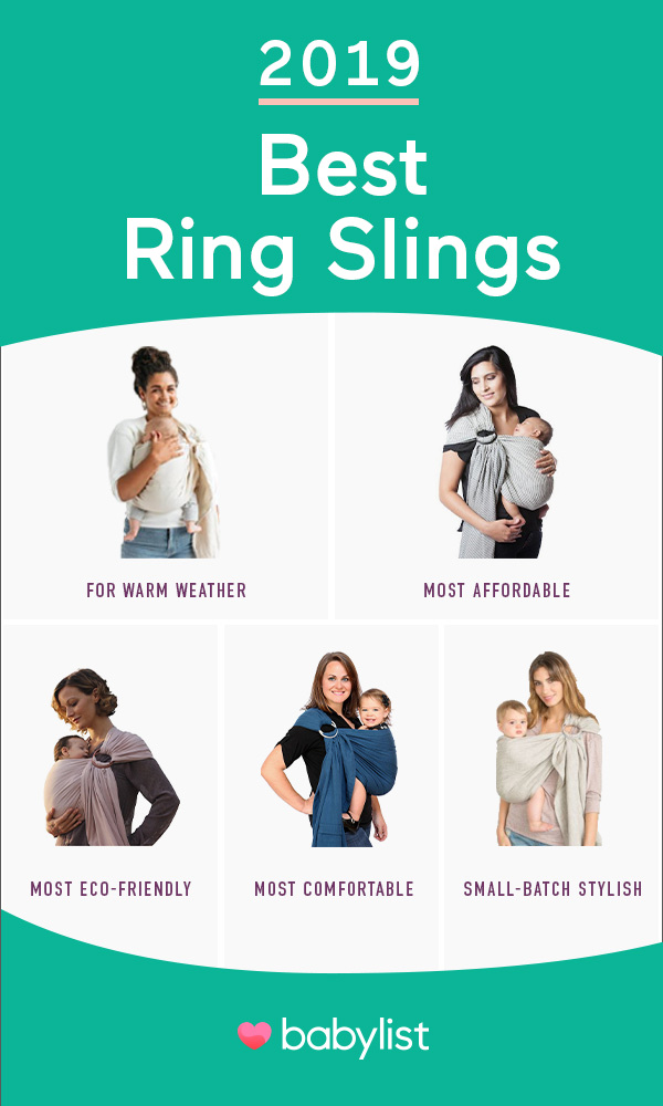 Looking for something with the closeness of a wrap without having to do the wrapping? Check out a ring sling.