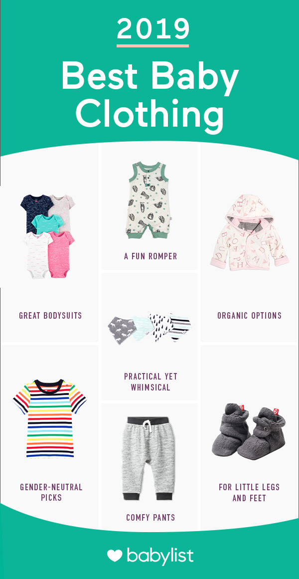 These clothes are super cute for babies to wear, plus functional for parents to use.