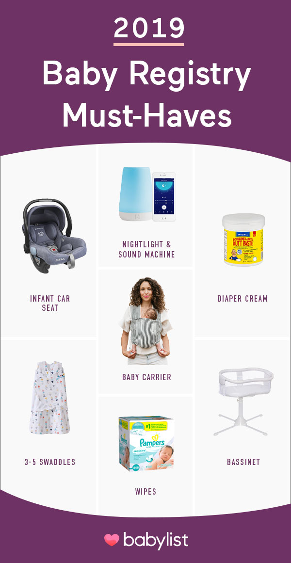 The new moms and dads guide to the top baby registry must haves of 2019. If you're expecting your first baby, these products are at the top of virtually every expecting parent's checklist.