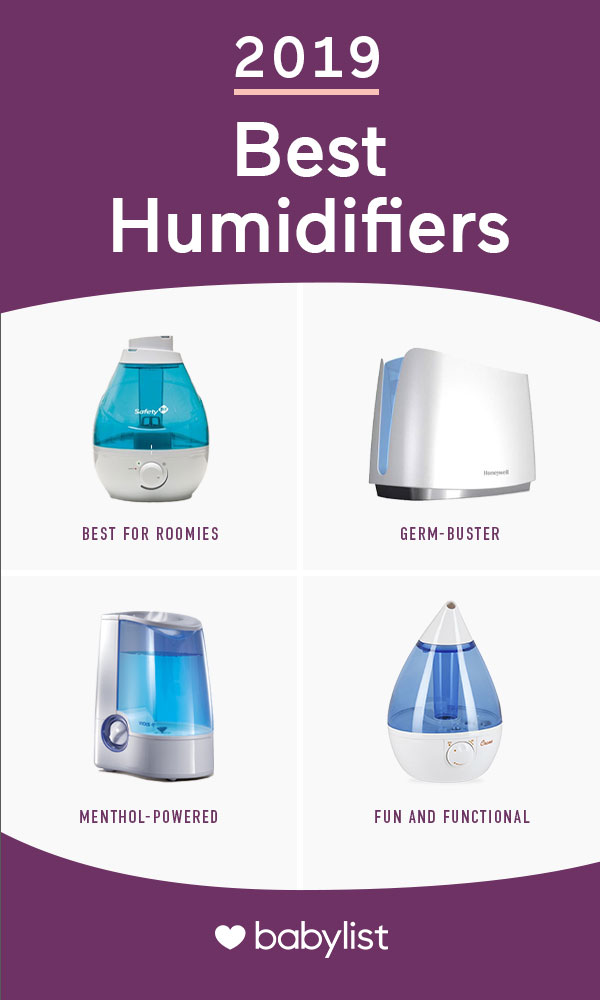 There's not a whole lot you can do when your child has a cold. Moist air eases colds, so enter humidifiers.