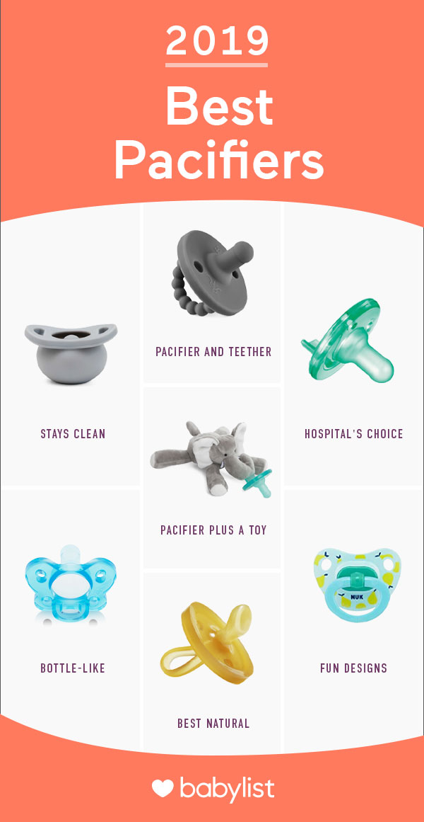 Let's be honest, the best pacifier is the one your baby will take, right?