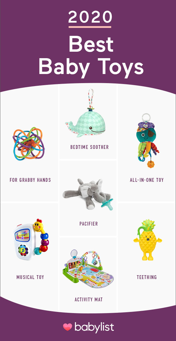 These colorful and simple toys can help kick off your baby's development and keep them entertained.