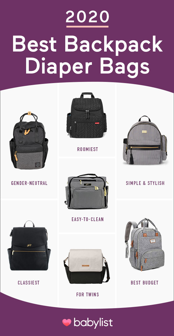 Babylist is the baby registry that lets you add any item from any store including the best backpack diaper bags. Including backpacks for mom, dad, and unisex, options.