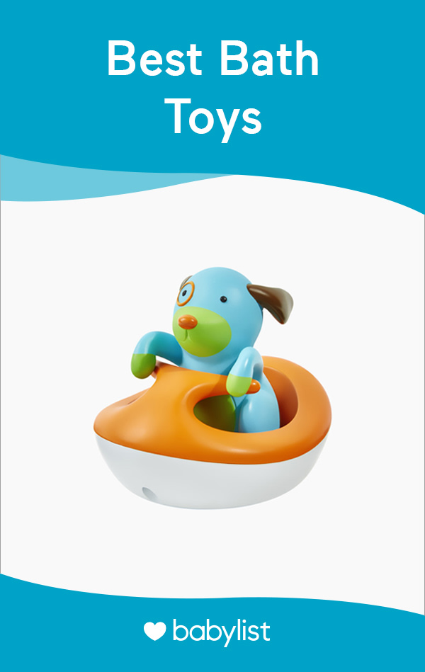 Get squeaky clean and have a ball in the bath with these entertaining toys.