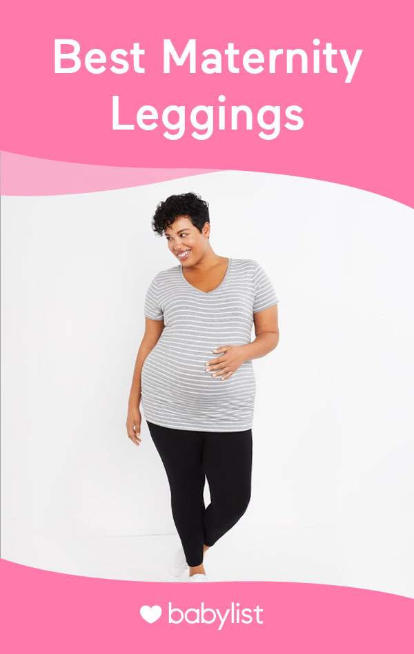 The best maternity leggings for any weather: winter, spring, summer and fall. Plus size pregnancy leggings and options perfect for your workout.
