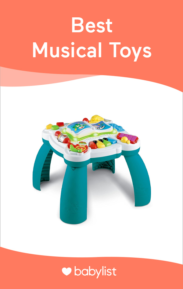 Help your little one get their groove on with these fun musical toys.