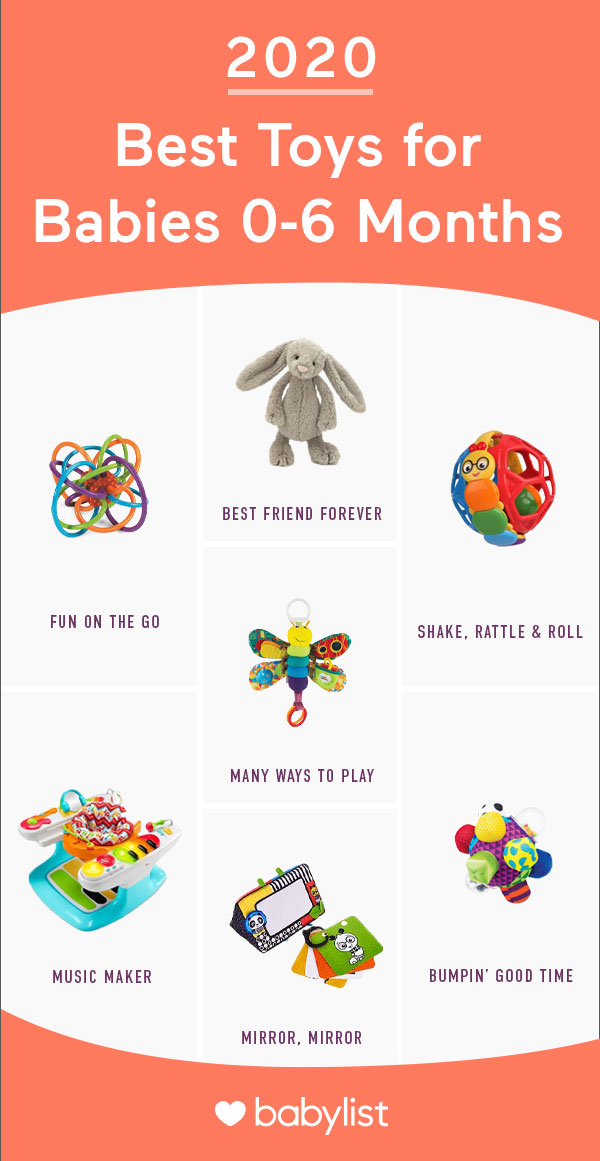 Playtime is important for infant development, and these toys can be a big help (and big fun).