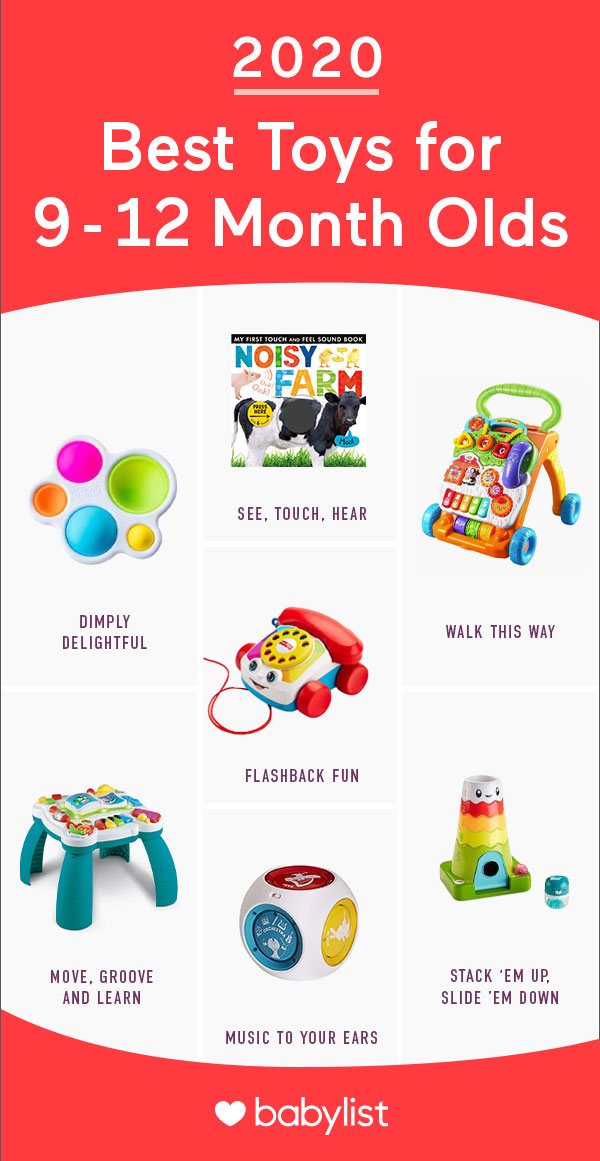 2020 Best Christmas Gifts 12month Old 11 Best Toys for 9  to 12 Month Old Babies in 2020