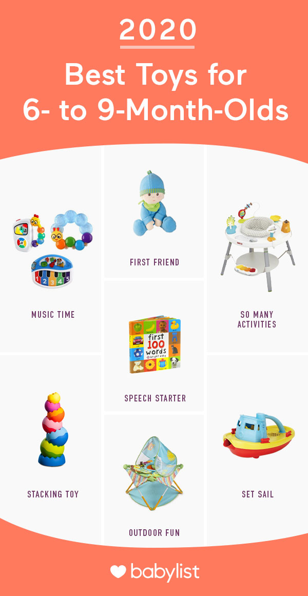 10 Best Baby Toys For 6 To 9 Month Olds