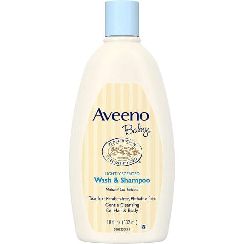 Aveeno Baby Wash and Shampoo - 150 LE