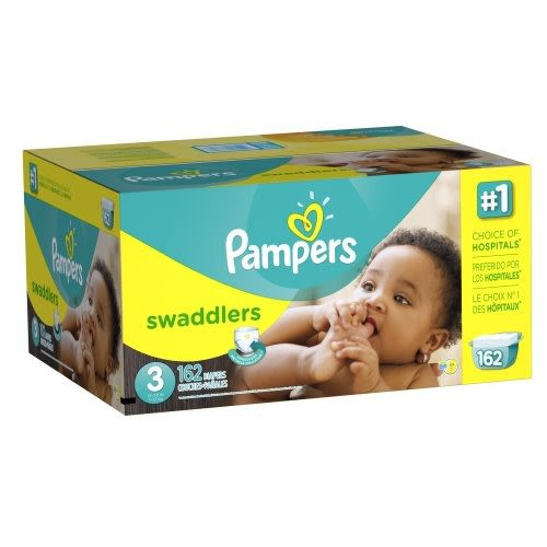 Pampers Swaddlers Diapers - $46.07