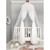 57331f925d Best Baby Bed Curtain Round Crib 50% OFF+FREE SHIPPING -Chill and Slay