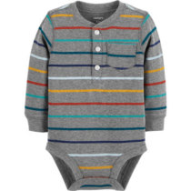 a2fcccda519c3 Carter s Slogan Long Sleeve Bodysuits - Baby Boy NB-24 months - JCPenney