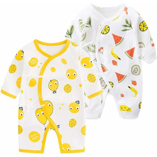 OEEIMG Japanese Seafood Sushi Long Sleeve Neutral Baby Onesies Outfits Funny for Newborn Boys Girls