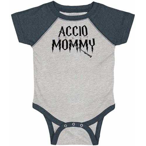 Accio Milk Funny Shirt Cool Sarcastic Baby Cute Romper Bodysuit