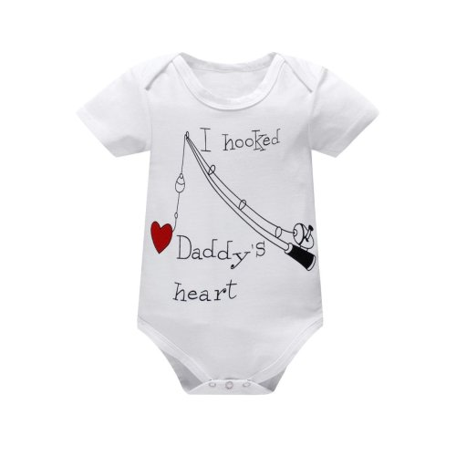 9f89baf9 Yatong Baby Boys Girls Short Sleeve Bodysuit Onesies Baby Romper (0-6  Months, White)