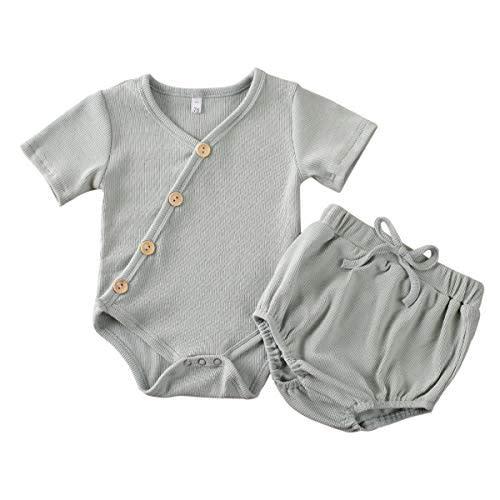Infant Baby Girls Bodysuit Short-Sleeve Onesie Life is Simple Eat Sleep Fish Print Rompers Winter Pajamas