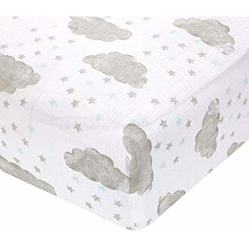 Partly Sunny Aden by aden anais Classic Car Seat Canopy Starry Showers