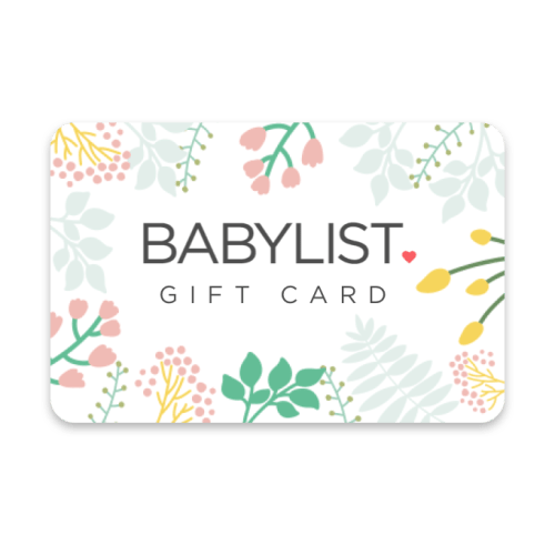 A $500 Babylist Store Gift Card