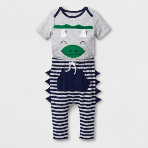 2632c8b1f0a2 Baby Boys' 2pc Short Sleeve Bodysuit and Joggers with Kangaroo Pocket - Cat  & Jack™ Gray · Target$12.99